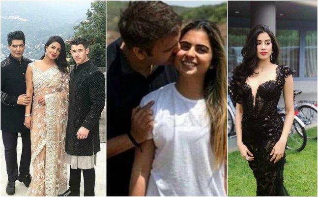 Priyanka, Nick, Janhvi; Celebs grace Isha Ambani's Italy engagement