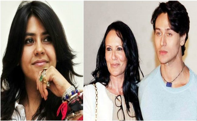Ekta Kapoor and Tiger Shroff's mom get into an argument over nepotism