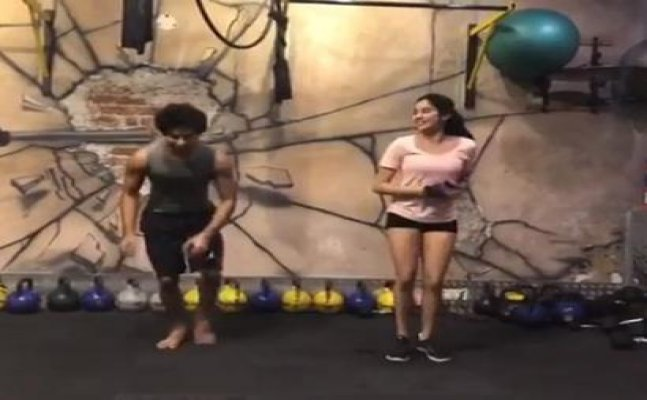 Janhvi Kapoor and Ishaan Khatter's CRAZY workout is friendship goals