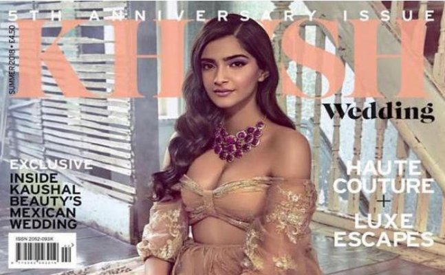 Sonam Kapoor's latest magazine photoshoot is nothing less than dreamy
