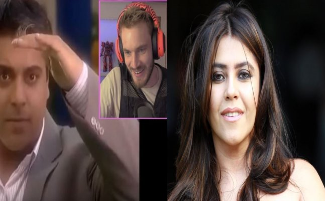 Swedish YouTuber MOCKS Indian daily soaps, Ekta Kapoor replies