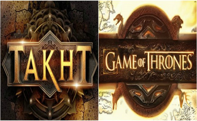 KJo's multi-starrer film Takht's logo is reminding us of 'Game Of Thrones'