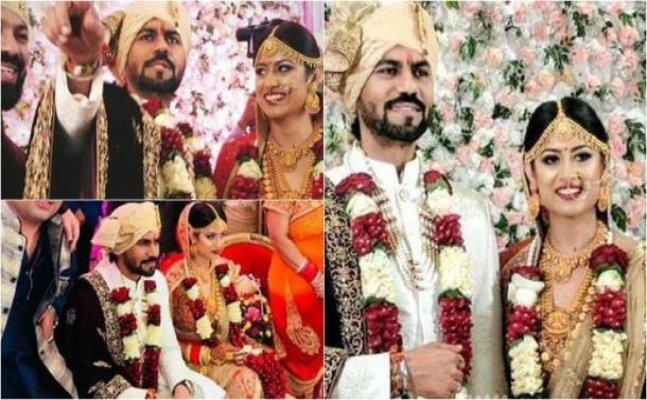 Gaurav Chopra's first public appearance after marriage with his wife
