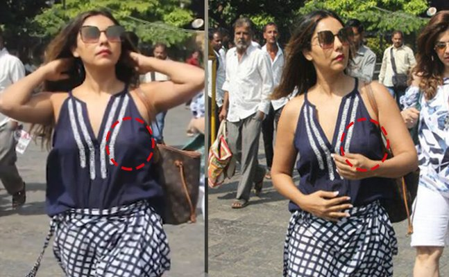 Oops! Gauri Khan goes bra-less, reveals almost EVERYTHING