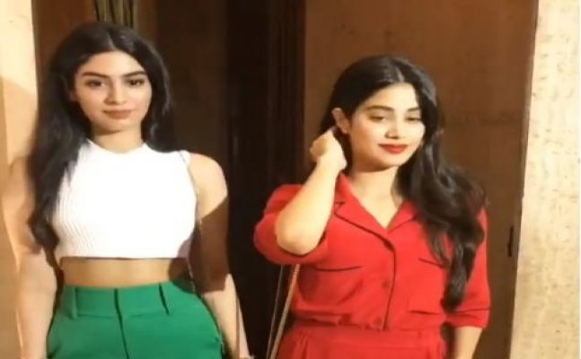 Janhvi Kapoor to Karisma Kapoor; Celebs attend Manish Malhotra's house party