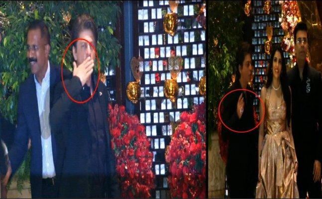 WHOA! Ambanis gift Shah Rukh Khan a huge diamond ring