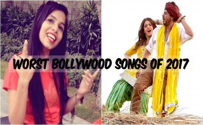 Rewind the 6 worst Bollywood songs of 2017