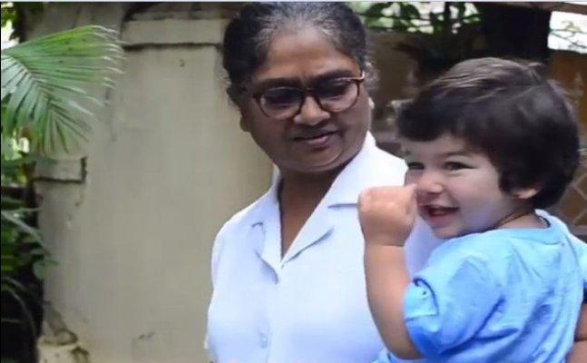 Taimur's nanny turns bodyguard, snubs a fan for taking selfie