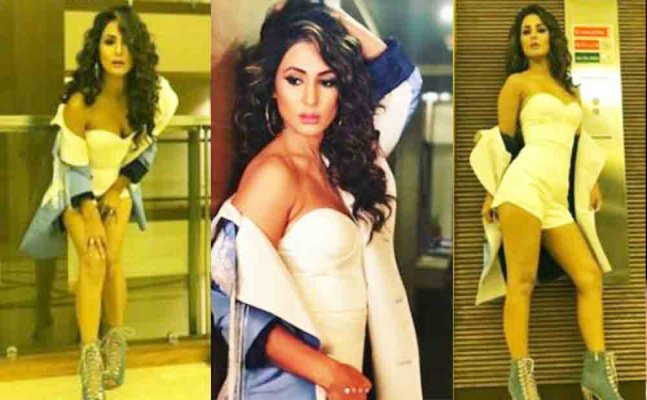 Bigg Boss finalist Hina Khan trolled massively for her monokini pictures