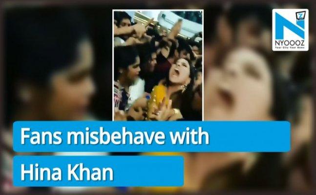 WATCH: Shilpa Shinde's fans harass Hina Khan at mall