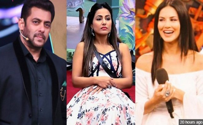 After Gauahar Khan, Hina Khan demeans Salman Khan and Sunny Leone