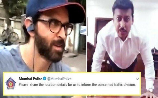 Mumbai Police tries to take action against Hrithik Roshan, spares Salman Khan