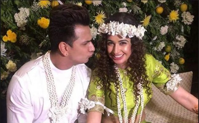 Check out: Prince Narula and Yuvika Chaudhary's pre-wedding ceremony moments