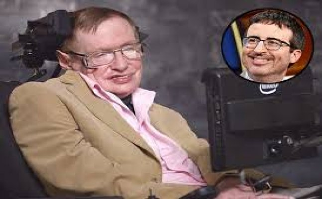 Looking back: When Stephen Hawking called John Oliver an idiot