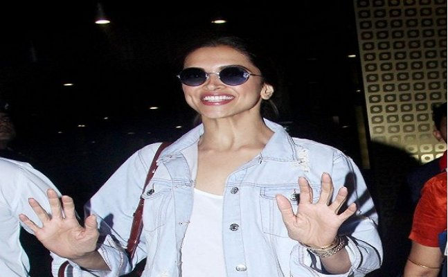 Deepika Padukone returns to Mumbai after an ad shoot with Sidharth Malhotra
