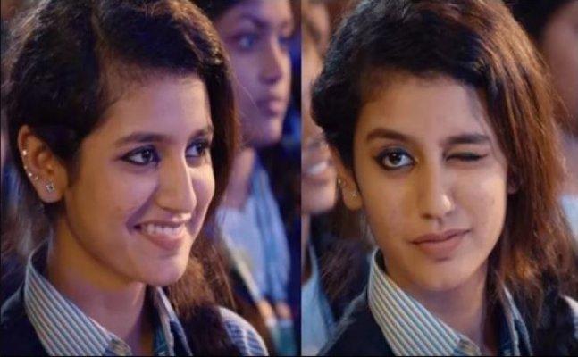 AGAIN! FIR filed for Priya Varrier's winking act