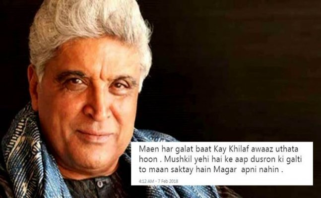 After Sonu Nigam, Javed Akhtar speaks up on loudspeakers in mosques