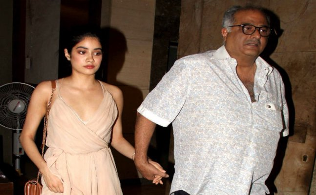 Boney Kapoor about daughter Jhanvi: She will be loved like her mother