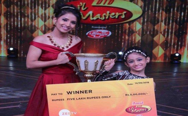 "DID Lil Masters winner Jiya Thakur loved being called ""Choti Madhuri"""
