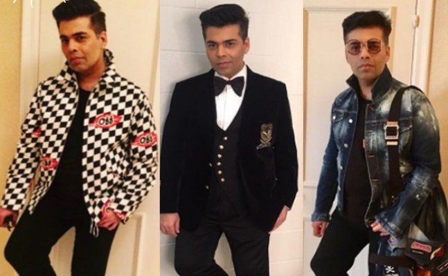 Karan Johar's unique style statements are leaving actresses behind!