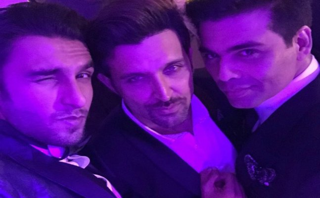 Karan, Hrithik and Ranveer's bromance is a treat to watch