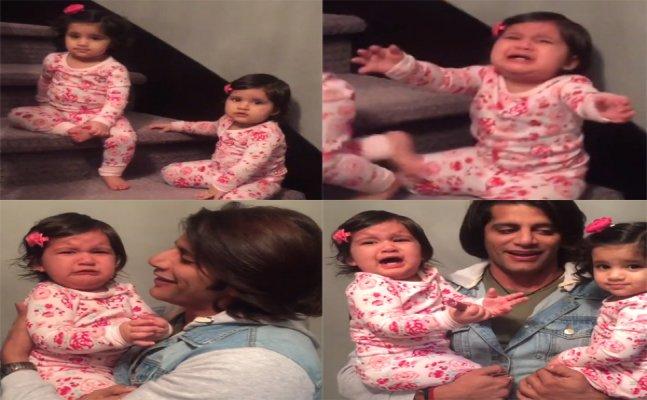 Karanvir Bohra's twins give him the cutest Valentine's gift