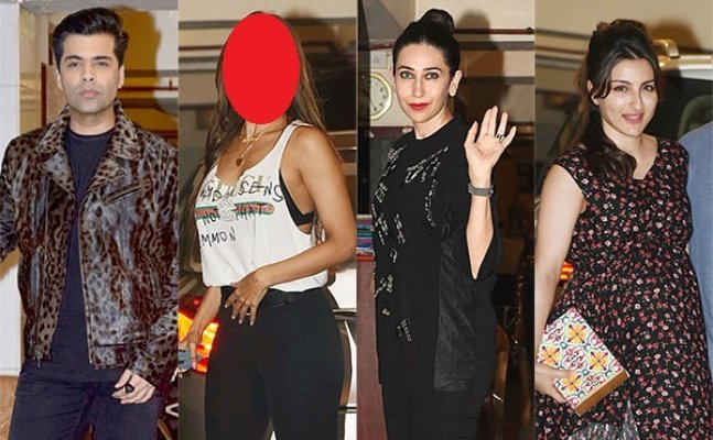 This actress flashes her BRA at Kareena Kapoor's birthday bash