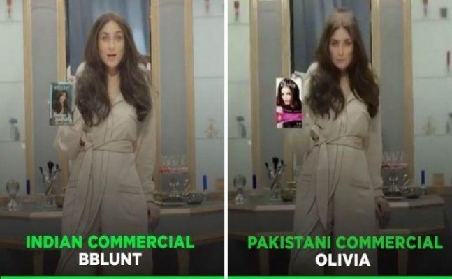 Pakistan plagiarises Kareena Kapoor's hair colour ad