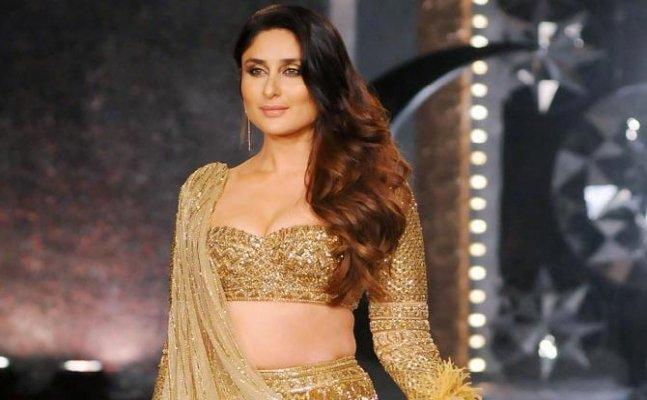 Kareena Kapoor looks like a vision in 30kg golden lehenga