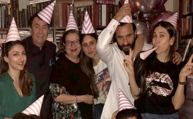 Kareena Kapoor's 38th Bday: Bebo parties with family on her special day
