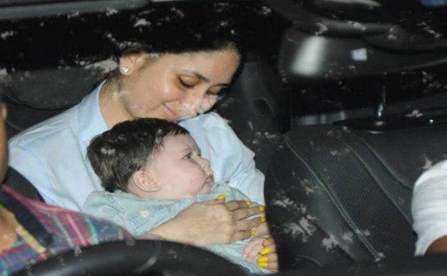Kareena Kapoor's little munchkin Taimur Ali Khan's photographs will make your day