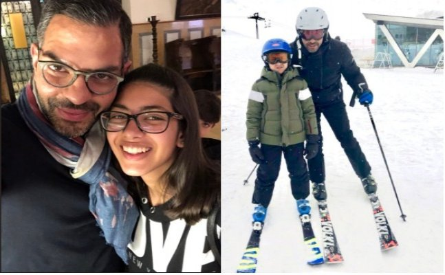 Karisma Kapoor's kids and ex-husband Sanjay Kapur enjoy vacation