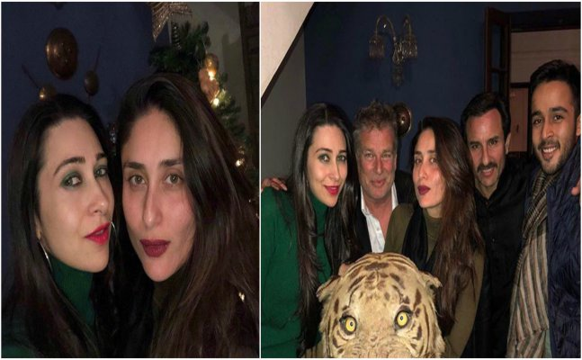 Taimur's bday bash: Kareena-Karisma gear up for the evening