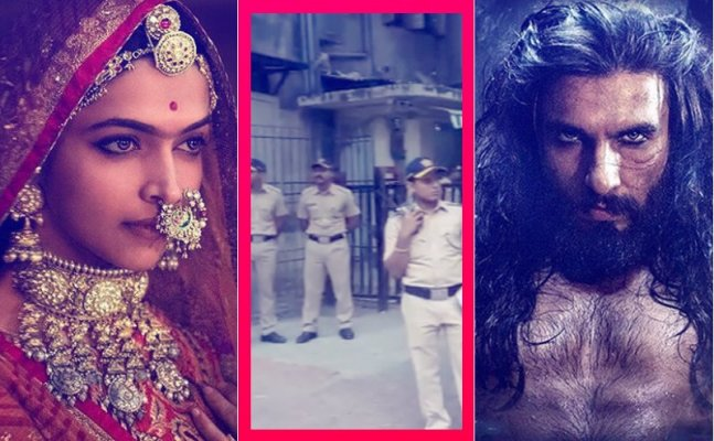 Padmaavat Row: Karni Sena members detained for protesting outside CBFC Office