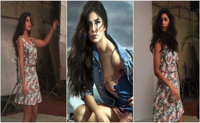 Insides from Katrina Kaif's latest photoshoot
