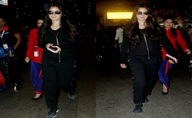 Katrina Kaif back in Mumbai after celebrating her birthday in England