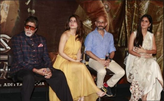 Thugs Of Hindostan trailer launch: Big B on Tanushree Dutt-Nana Patekar controversy