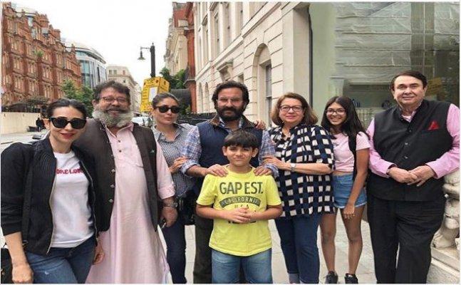 Karisma and Kareena Kapoor's Fam Jam pics in London