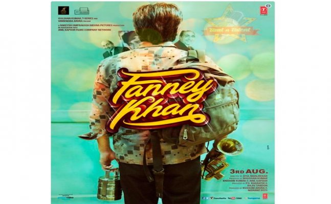 Anil Kapoor shares first poster of his upcoming film Fanney Khan