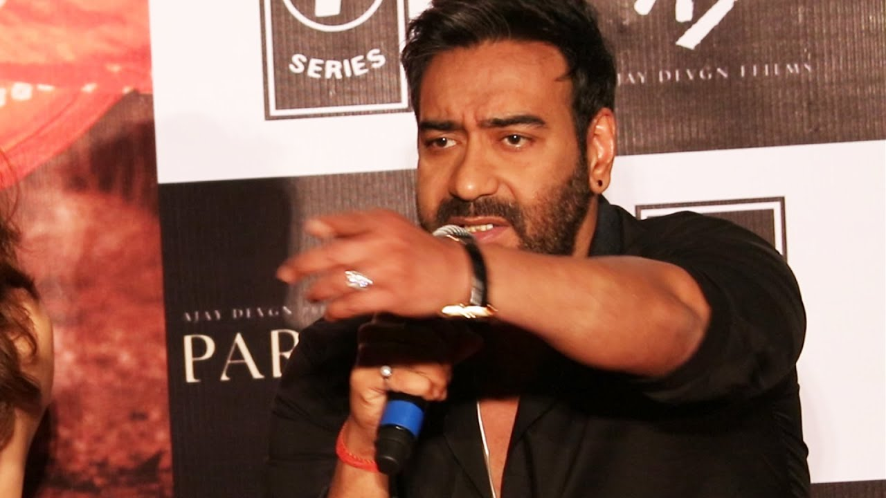 Ajay Devgn heckled for no comment on farmers protest