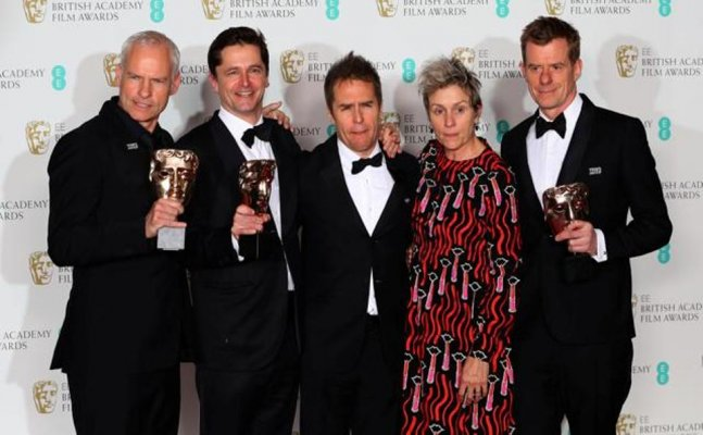 BAFTAs 2018: 'Three Billboards' bags most awards; check out complete list