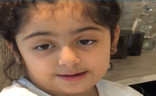 Watch: Ranbir Kapoor's niece Samara talking in British accent