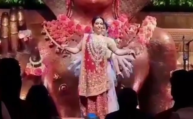 Nita Ambani's dance at Akash Ambani's pre-engagement party is beautiful