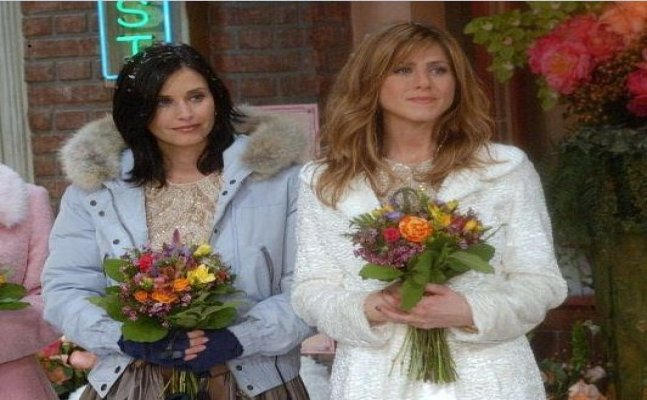 Ok Now! Rachel will actually turn maid of honour for Monica!