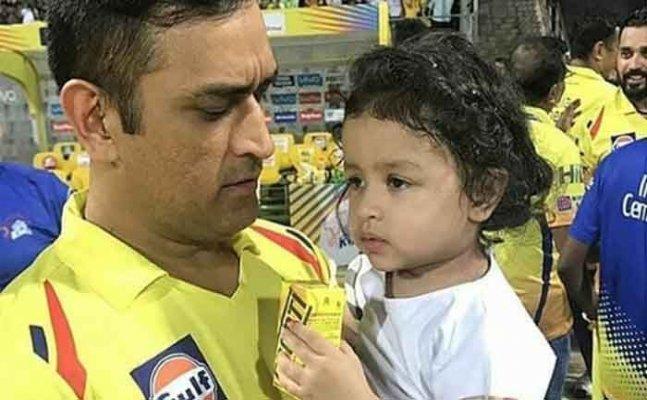 Twitterati go berserk over Dhoni and Ziva's celebration post win