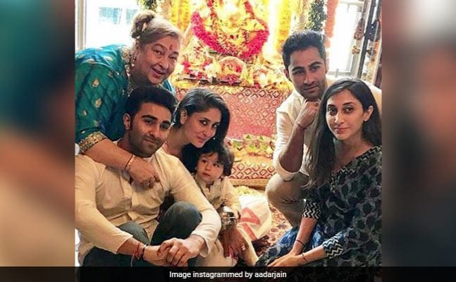 Taimur's Ganpati celebration videos with Kareena and family