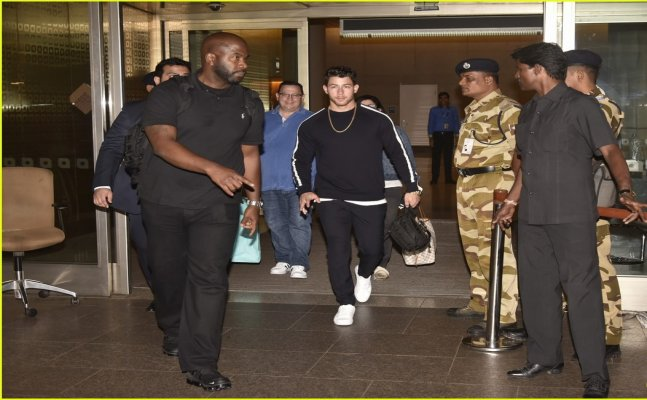 Priyanka Chopra's engagement: Nick Jonas lands in India with parents