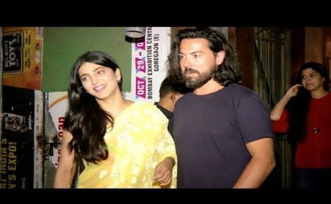 Shruti Haasan spotted with her boyfriend