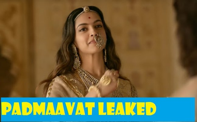 LEAKED! Facebook Pages went live to stream 'Padmaavat'