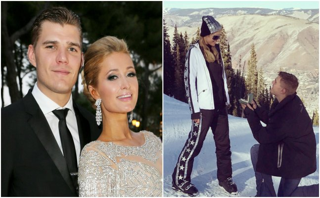 CONGRATUATIONS: Paris Hilton gets engaged to Chris Zylka